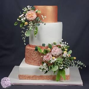 Wedding cake - Cake by Sugar Cook