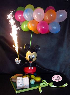 Antigravity Mickey mouse for children - Cake by Lenkydorty