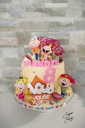 Loud house cake - Cake by Tanya Shengarova