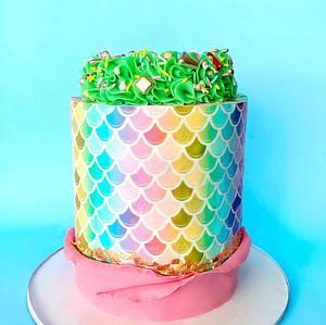 Mermaid Cake  - Cake by Buttercut_bakery