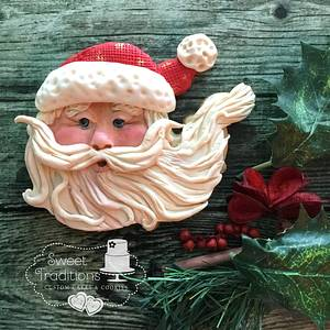 Whimsical Santa - Cake by Sweet Traditions