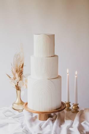 Boho modern wedding cake - Cake by Dmytrii Puga