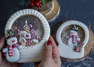Let it snow - Cake by Vanilla & Me