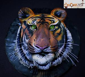 Bengal tiger - Cake by Sugarzest