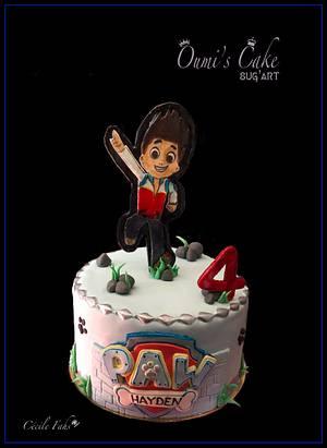 Paw Patrol Cake - Cake by Cécile Fahs