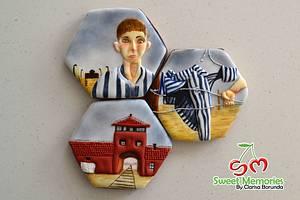 Remembering Auschwitz  - Cake by Clarisa Borunda