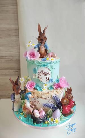 Peter the rabbit cake - Cake by Tanya Shengarova