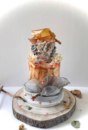 🍂🍁Hello Autumn 🍁🍂 - Cake by Sadiacakeart