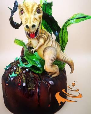 Dinosauro cake - Cake by Dolce zucchero
