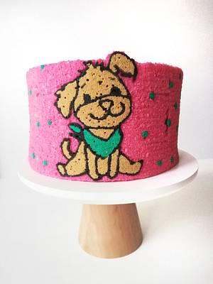 Little dog  - Cake by Gimena