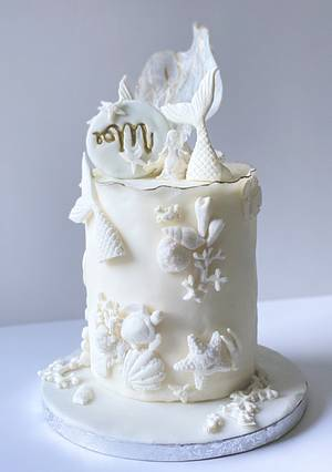 Mermaid Cake 🧜♀️ - Cake by Sadiacakeart