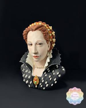 Busto di Lucrezia de' Medici (The Royal-An international Cake Challenge) - Cake by Linda Biancardi