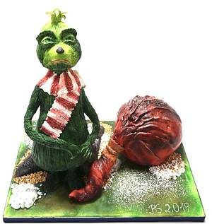 Grinch - Cake by Birgit