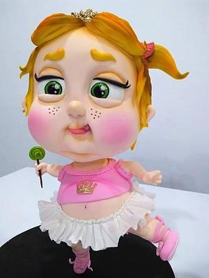 "STANDINGCAKE ""BABY BAILARINA"" - Cake by SONIA PORCÚ"