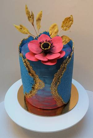 Sugar sheet cake - Cake by Darina