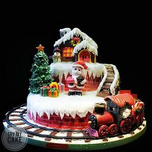 Christmas Cake  - Cake by Liva Rahman