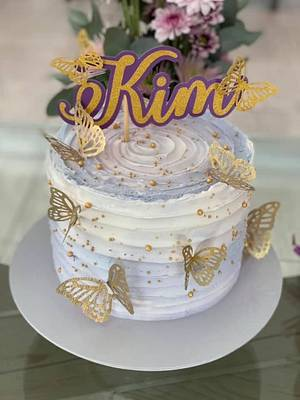Beautiful butterflies  - Cake by Rhona