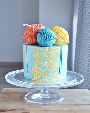 Crochet Cake - Cake by rincondulcebysusana