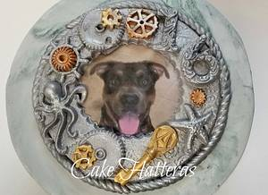 Steam Punk Pup - Cake by Donna Tokazowski- Cake Hatteras, Hatteras N.C.