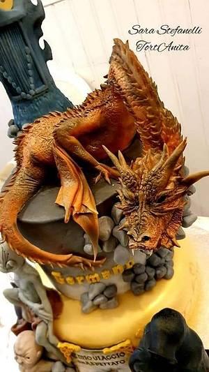 Smaug - Cake by Sara Stefanelli