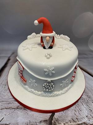 Gonk Christmas Cake - Cake by Roberta