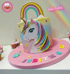 Cute unicorn 🦄 cake by Gele's Cookies - Cake by Gele's Cookies