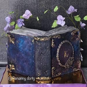 Unread book - Cake by Renatiny dorty