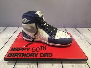 Jordan Air Trainer - Cake by Dinkylicious Cakes