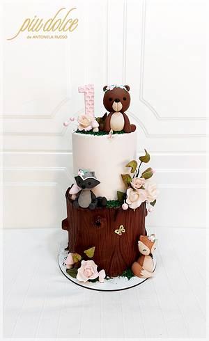 Woodland Cake - Cake by Piu Dolce de Antonela Russo