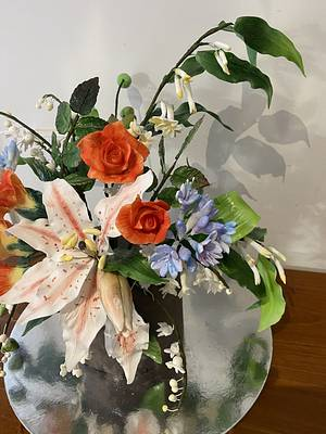 Sugar flowers  - Cake by Cake house sensation