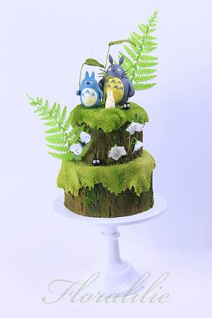 'My Neighbor Totoro' - Cake by Floralilie