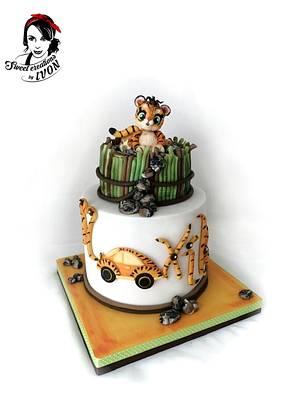 Little Tiger - Cake by Ivon
