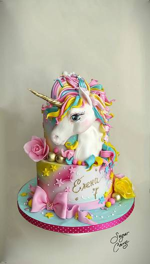 Unicorn love - Cake by Tanya Shengarova