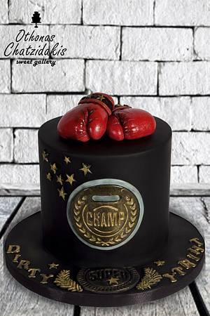 Boxing 🥊🥊🥊 Cake - Cake by Othonas Chatzidakis