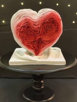 Melting heart! - Cake by CakeMeOver