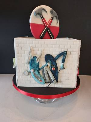 Pink floyd cake - Cake by Caked
