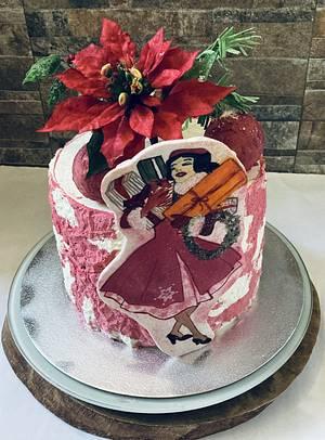 snowflake - Cake by Snezhana