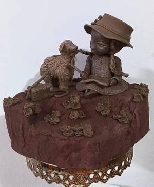 DISEÑO APRENDIENDO CON LA NATURALEZA EN TIEMPOS DE PANDEMIA  - Cake by MILUSKA VILLANUEVA CAVERO