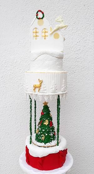 Christmas tree cake - Cake by Gimena