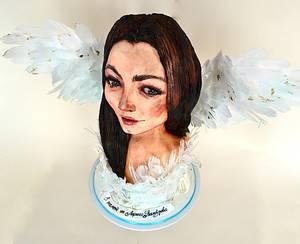 In memoriam to Lorina Kamburova - Cake by Tanya Shengarova