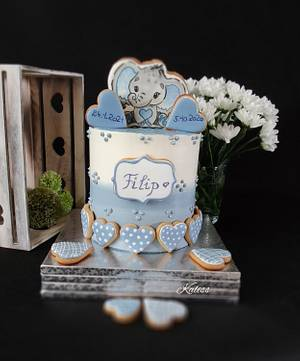 cake for christening - Cake by Kaliss
