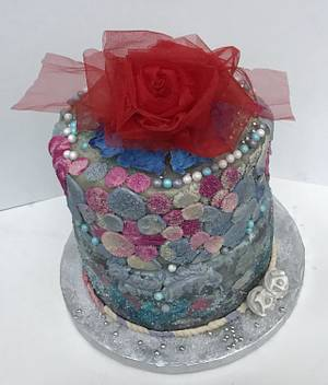 """Surprise Wedding Cake   - Cake by June (""""Clarky's Cakes"""")"""