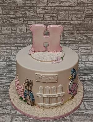 Peter rabbit cake - Cake by Rositsa Lipovanska