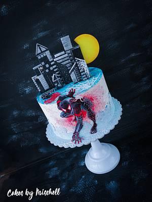Spiderman - Cake by Mischell