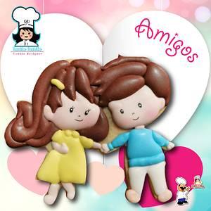 Friends  - Cake by NanitaPachita_AnaBorja