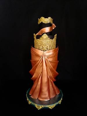 Indian Coture Ethnic Wear A Cake Collaboration - Cake by Erick Zea O'Phelan Suárez Sugar Art