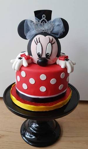 Two faces mouse cake - Cake by Janny Bakker