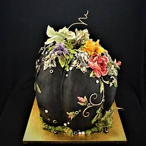 Halloween pumpkin - Cake by Torty Zeiko
