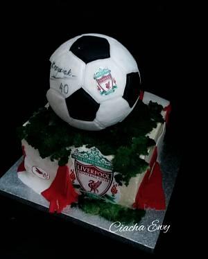 Liverpool  - Cake by Ewa