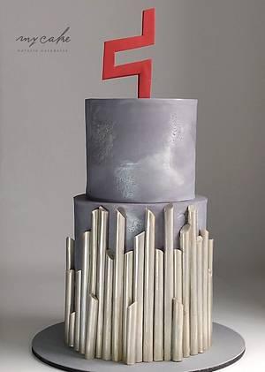 Torta moderna - Cake by Natalia Casaballe